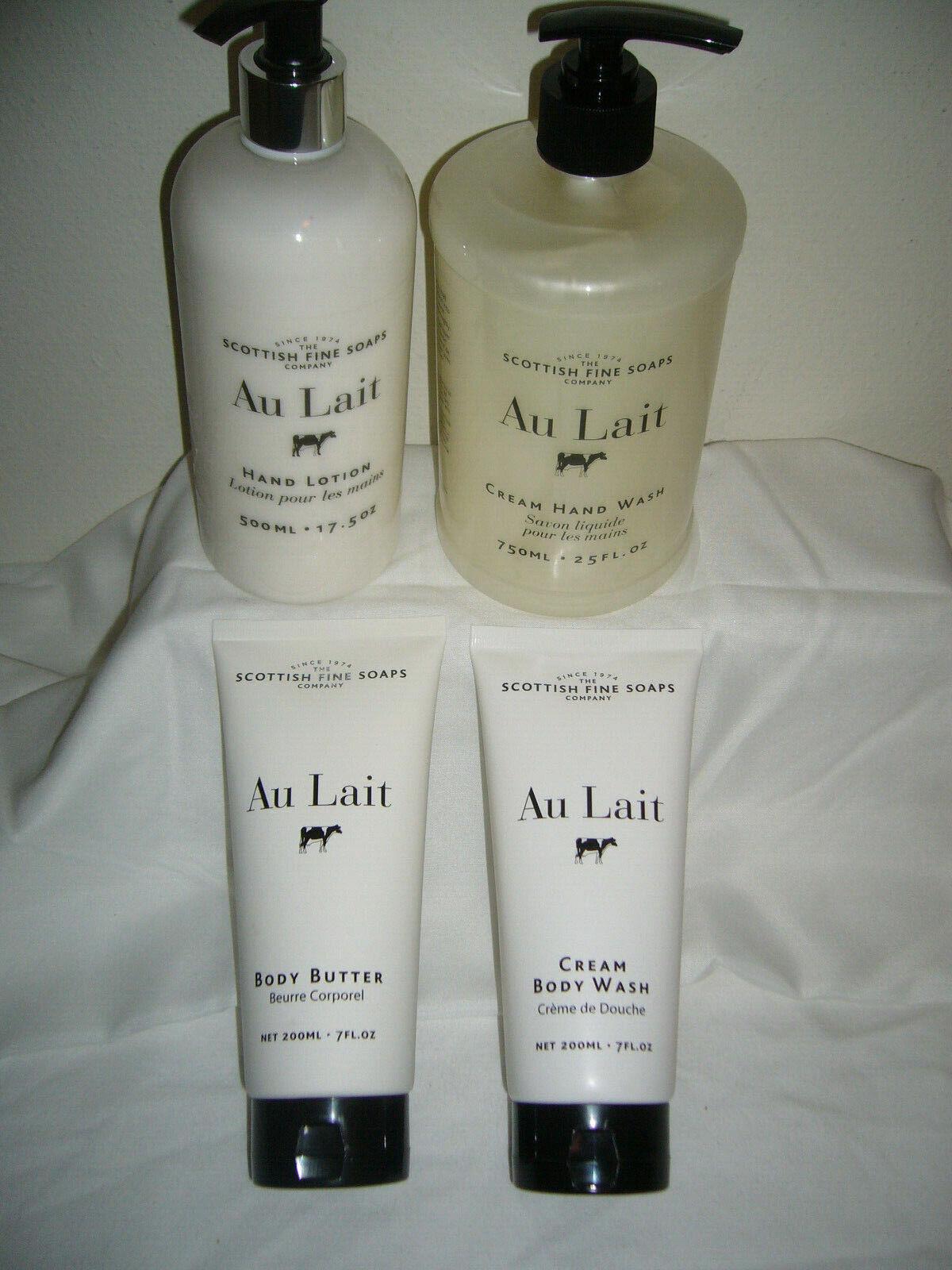 Au Lait - SCOTTISH FINE SOAPS -  YOU CHOOSE -