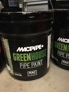 Greenhouse Metal Pipe Paint
