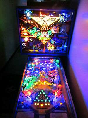 TIME WARP Pinball LED Lighting Kit custom SUPER BRIGHT KIT