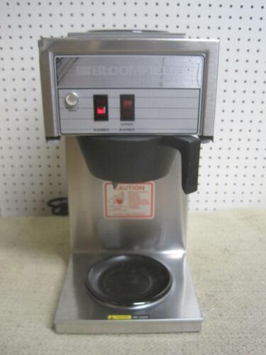Bloomfield Bunn Koffee King Brewer Maker Machine 8543 Commercial Warmer Filter $