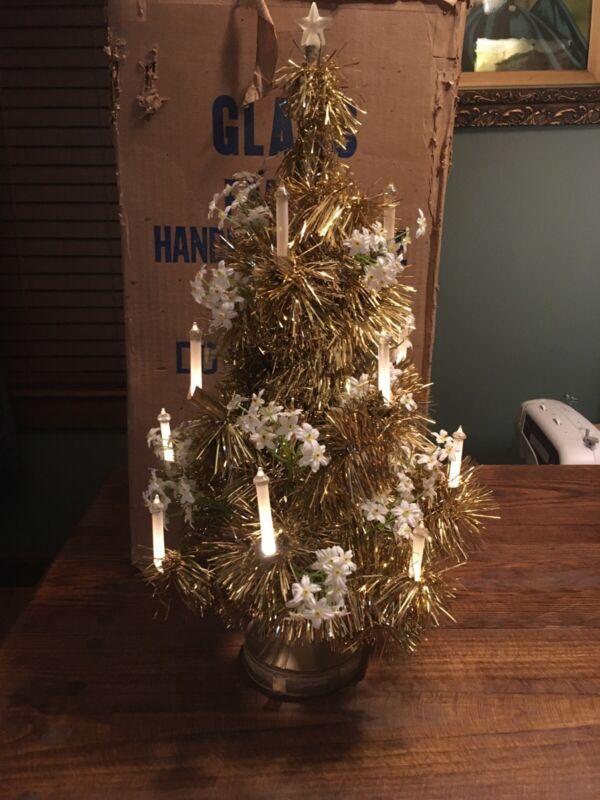 Vintage Glolite Christmas Tree 1940