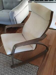 Poang Rocking Chair IKEA in Beige