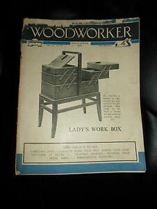 Woodworker-December-1951-Retro-Vintage-Illustrated-Magazine-Advertising