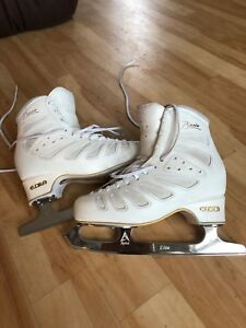 Size 245 Edea Piano Skates with Apex Elite blades