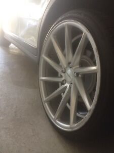 """VOSSEN CVT'S STAGGERED 20"""" With Tires"""