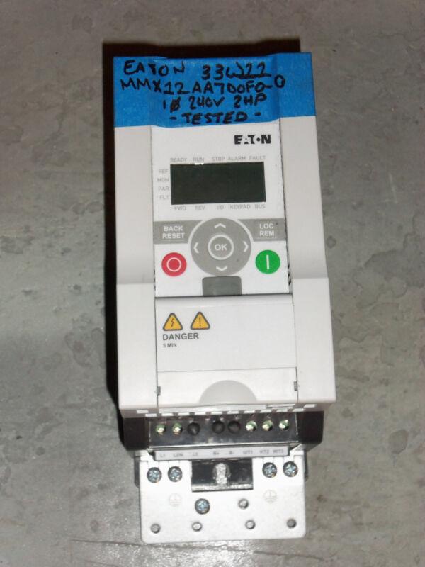 eaton mmx12aa7d0f0-0  ac drive starter soft start   2hp 240v single phase 1