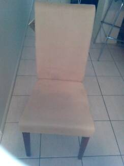 Beautiful Beige Dining Chairs