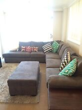 Lounge (incl Double Sofa Bed) & Ottoman Neutral Bay North Sydney Area Preview