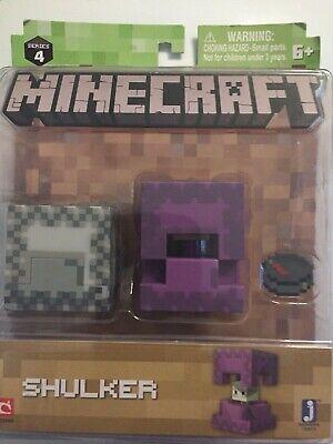 Minecraft Series 4 Shulker  2018 Action Figure New