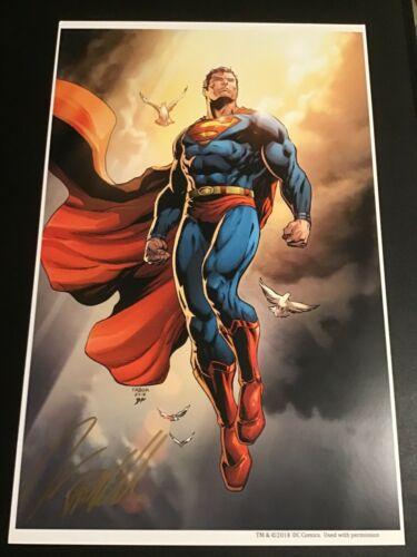 DC ACTION 1000 SUPERMAN COVER Art Print SIGNED By JASON FABOK Art Print FAN EXPO