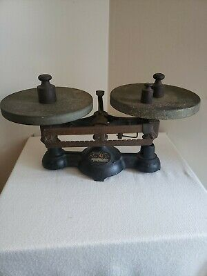 Ohaus Scale Vintage With Weights