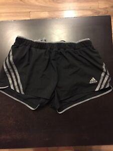 Women size small adidas running shorts