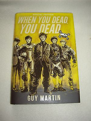 Guy Martin signed special collectors edition book, Isle of Man TT