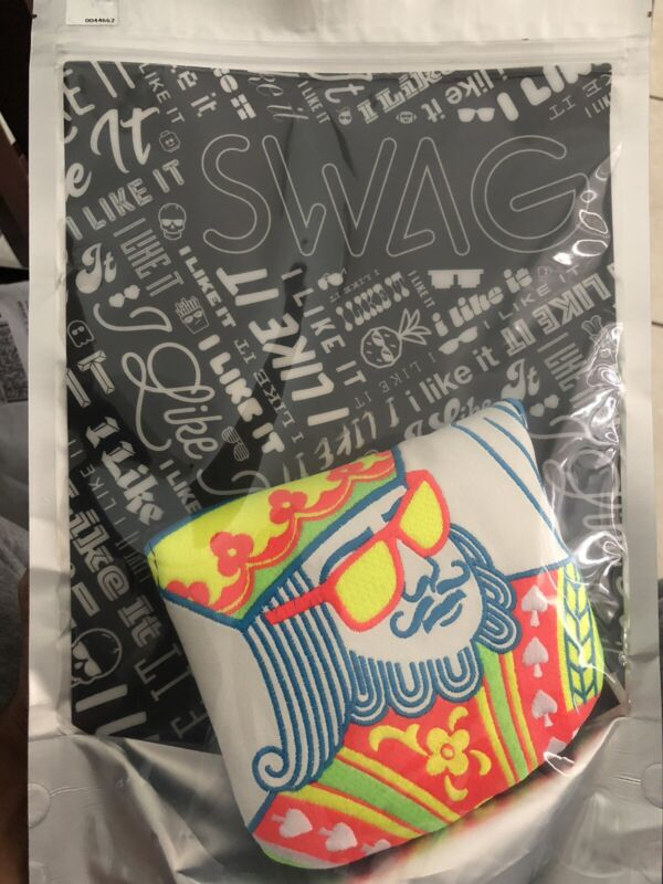 SWAG Golf EL GRANDE SHERBET MALLET COVER IN HAND