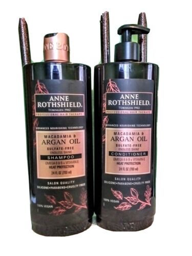 marcadamia argan oil shampoo and conditioner 24