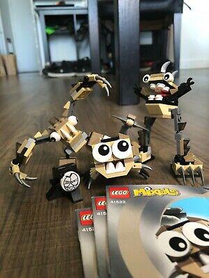 Lego Mixels Series 3 complete set of Spikels: Hoogi Scorpi Dooti great condition