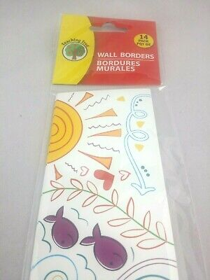 Wall Border Bulletin Board Decoration Whimsical Pattern Classroom Office Library Classroom Bulletin Board Decorations