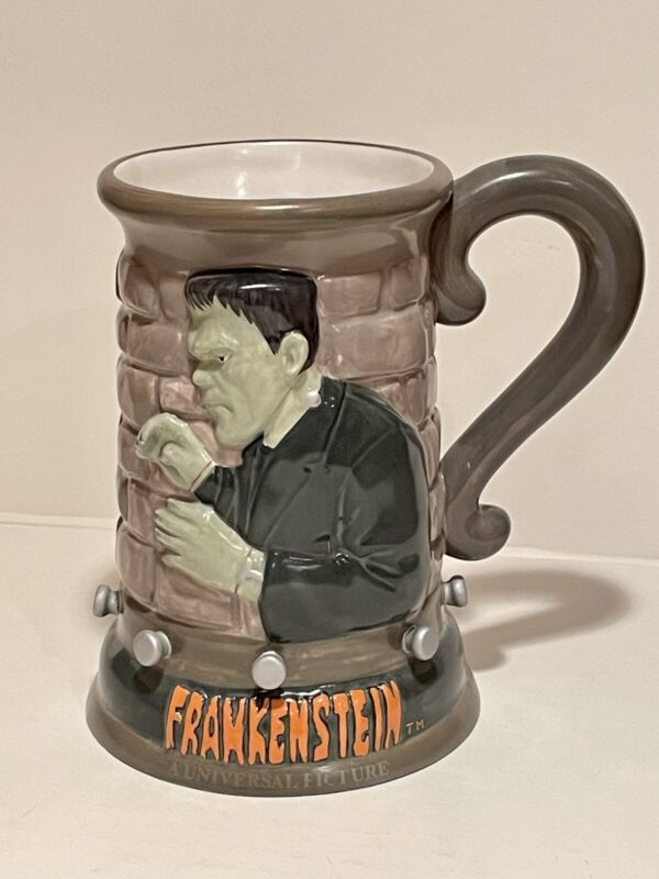 Vintage Universal Monsters Frankenstein Stein Mug