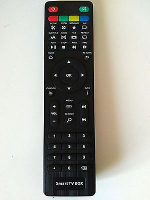 ZOOMTAK ANDROID TV BOX REMOTE CONTROL FOR K5 K9 T8 T6 M8 M5 M6 & I6 MODELS