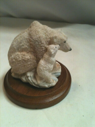 POLAR BEAR WITH CUB STRATFORD COLLECTION #00953