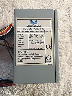 Atx Power Supply Fuse (Manhattan Power Supply ATX-300 , 300 watt used )