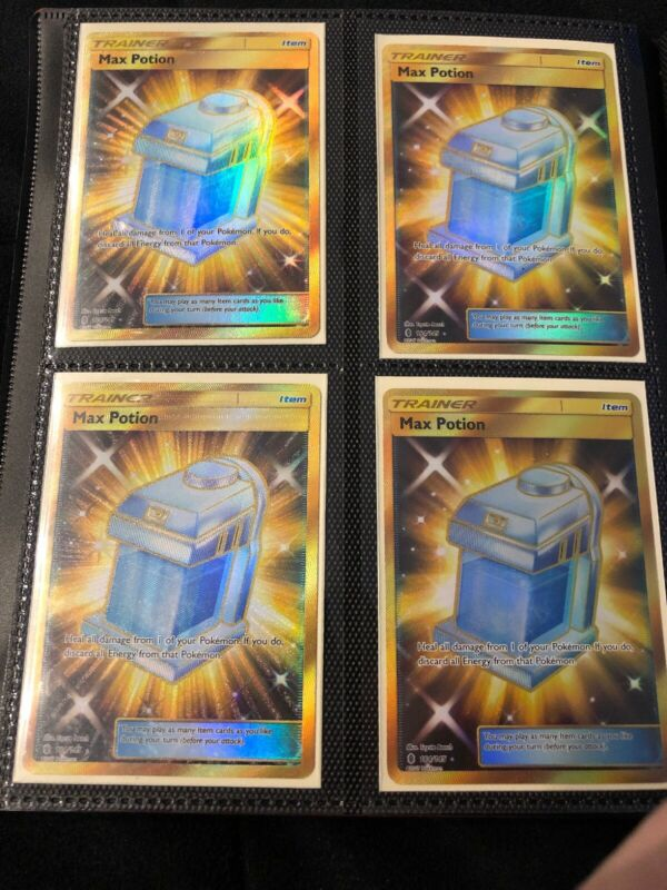 Pokemon Guardians Rising Max Potion 164//145 Secret Rare Card