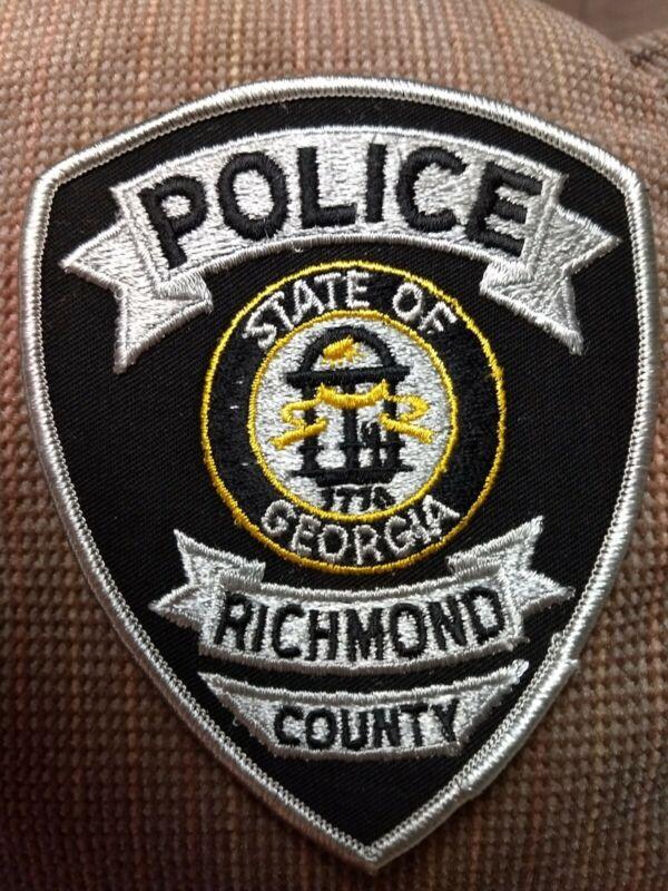 Richmond County Georgia Police Patch - New
