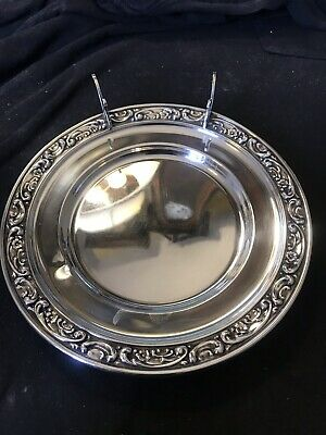 WHITING STERLING SILVER NUT DISH #5750 EXCELLENT CONDITION C