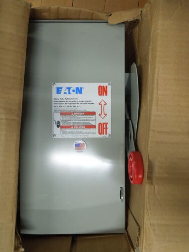 Eaton Dh361ugk Heavy Duty Non-fusible Safety Switch 30a 3w 600v Type 1 Encl. New