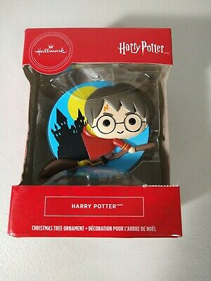 Hallmark 2019 Harry Potter Flying Broom Quidditch Hogwarts Ornament