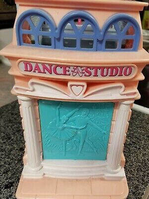 Fisher-Price Sweet Streets Candy Shop And Dance Studio Play Set