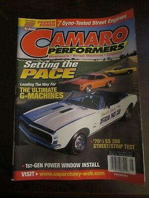 Camaro Performers Magazine Fall 2002 Official Pace Car '70 1/2 SS 396 (BB)
