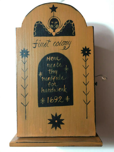 Liberty Hill- First Colony Tombstone Cupboard Box- OOP