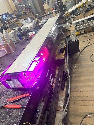 52 Purple Whelen Edge 9000 Light Bar