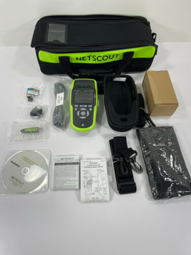 NetScout LinkRunne AT 2000 LRAT2000 Kit - Network Tester for Copper & Fiber