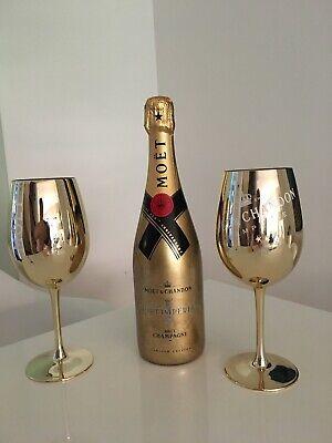 moet chandon Champagner Neu Goldedition + 2 Gläser