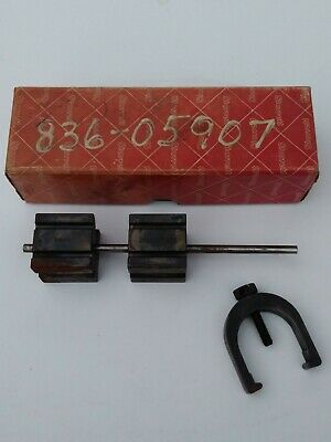 Starrett V-blocks And Clamp Set 271 C In Original Box Vintage