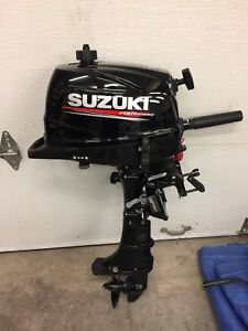 2018 Suzuki 4hp 4 stroke and Lowe 1040 Jon Boat.