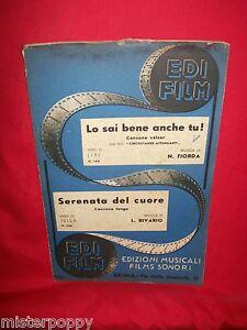 FIORDA-dal-film-034-Circostanze-Attenuanti-034-RIVARIO-Serenata-OST-Spartiti-1941