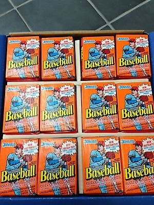 1990 Donruss Baseball Cards 40 Unopened Pack Lot From Display Case Ryan Bonds