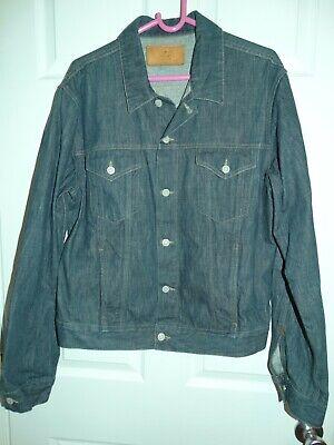 Vintage GUCCI Trucker Denim Jean Jacket Size 52