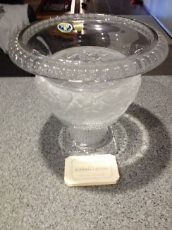 Bohemia cut lead crystal