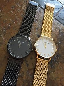 Gold and Black Larsson & Jennings Unisex Watch