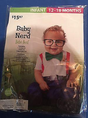 Halloween Costume Boys Infant Baby Nerd 12-18 Months - 18 Month Halloween Costumes For Boys