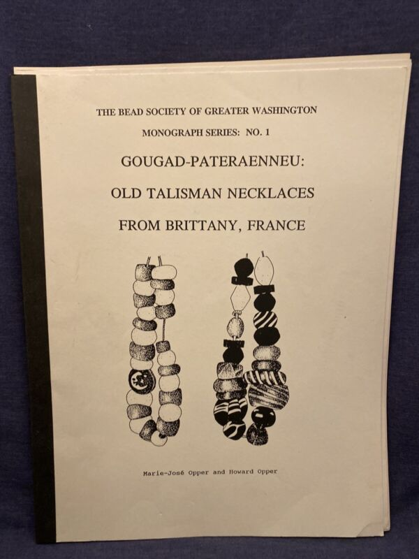 Gougad-Pateraenneu Old Talisman Necklaces Brittany France Bead Soceity OPPER