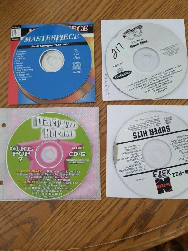 Various Karaoke 4 Disc