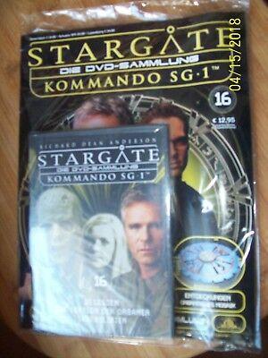 Stargate Kommando SG 1/Die DVD-Sammlung/Nr.16/DVD mit Heft NEU&OVP