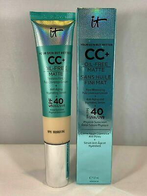 IT Cosmetics Your Skin But Better CC+ Cream Oil-Free Matte SPF 40 Choose