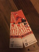 TWO HABS TICKETS FOR GAME NOV 30