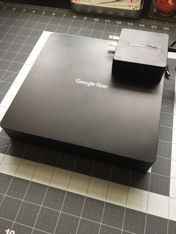 Google Fiber Network Box GFRG200 w/ Power Cord 🔥